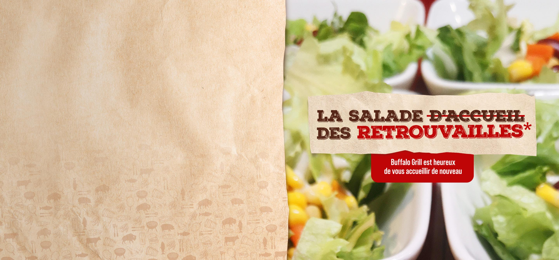 Buffalo Grill salade d'accueil