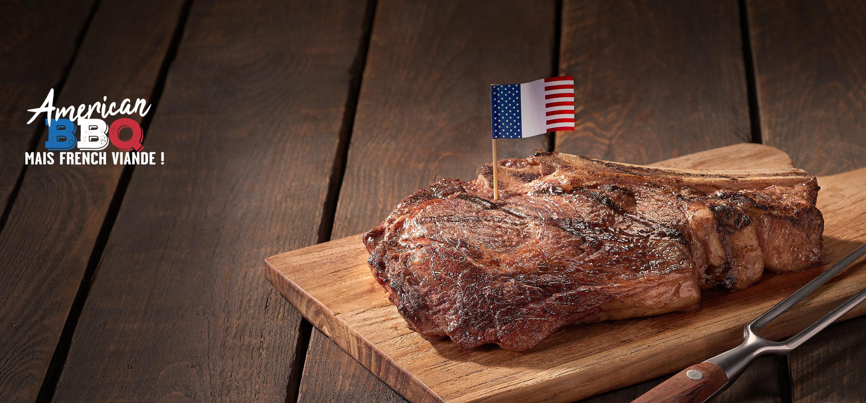 American BBQ mais french viande !