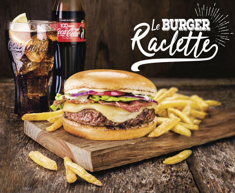 Buffalo Grill Raclette Burger x Deezer