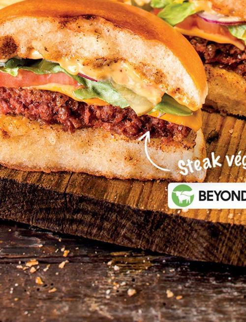 Veggie Burger chez Buffalo Grill