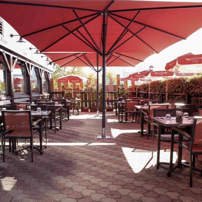 Terrasse restaurant Buffalo